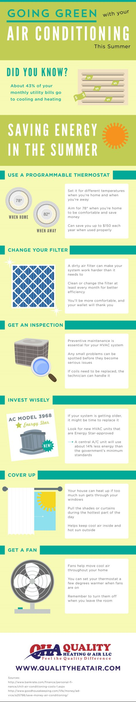 Going Green with Your Air Conditioning This Summer [INFOGRAPHIC] | Murfreesboro